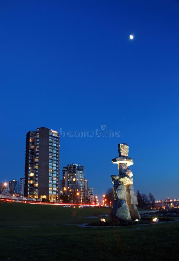 大厦雕塑 免版税图库摄影