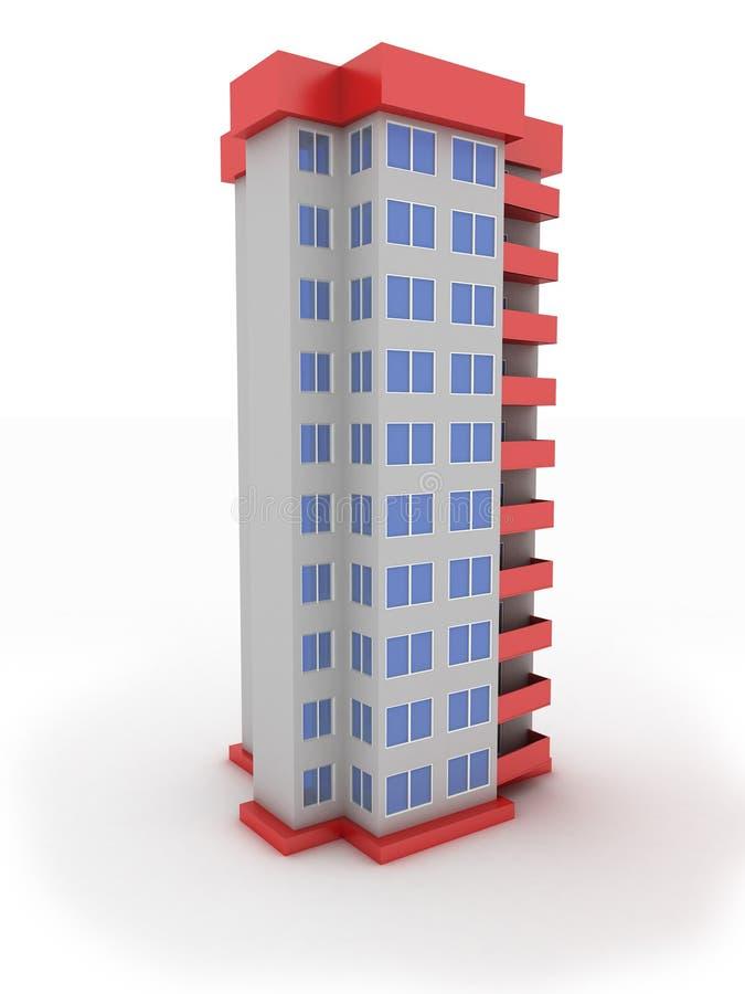 大厦 向量例证