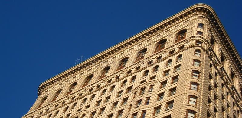 大厦flatiron顶层 库存照片