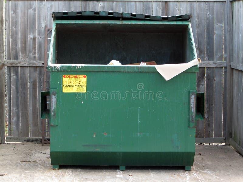 大型垃圾桶 免版税库存照片