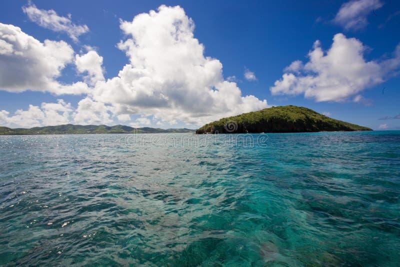 大型装配架海岛 库存照片