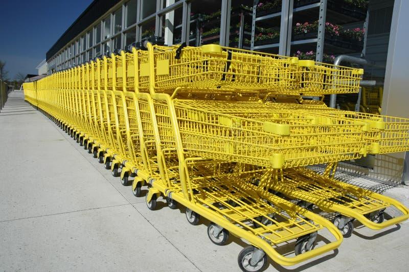 大型超级市场 库存图片