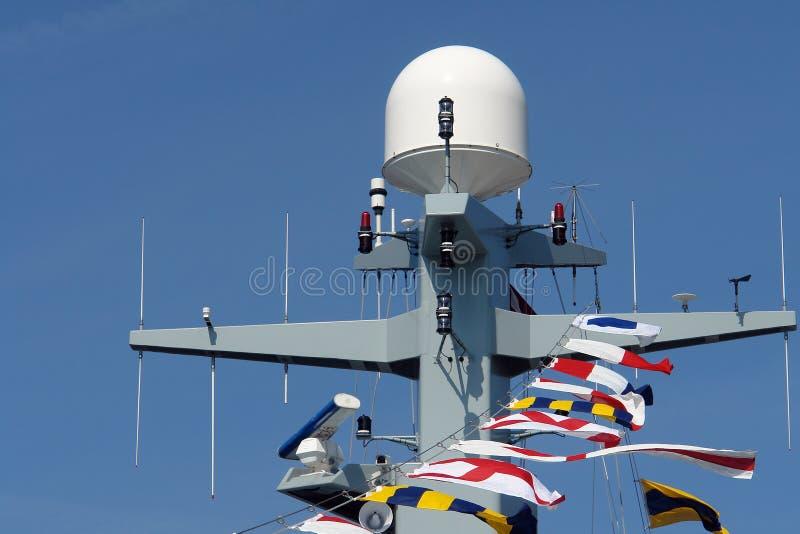 大型驱逐舰海军军舰 库存图片