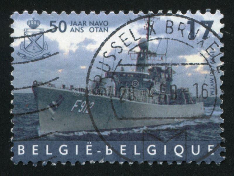 大型驱逐舰Wandelaar 免版税库存图片