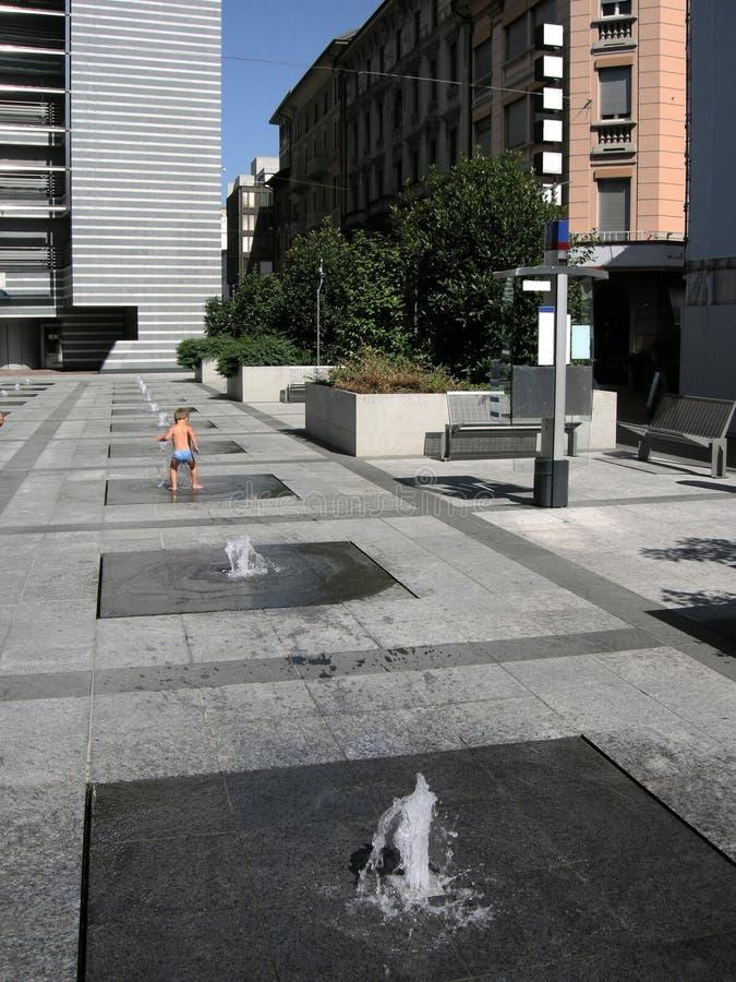 大城市生活 免版税图库摄影