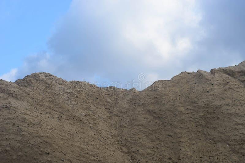 大堆土壤 免版税图库摄影