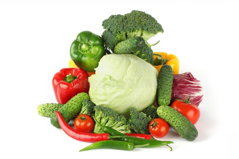 大堆素食主义者 免版税库存照片