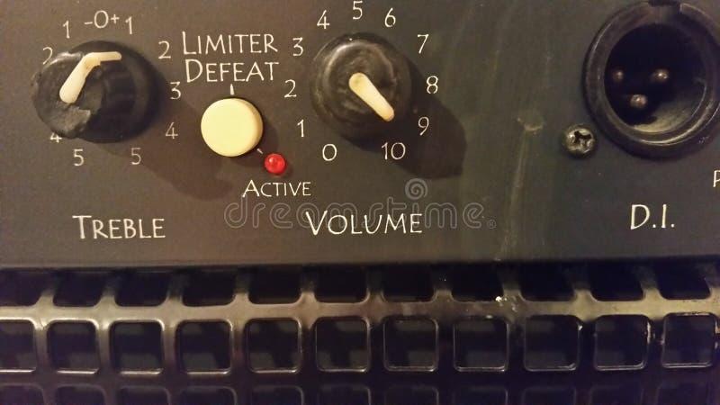 大声的容量 库存图片