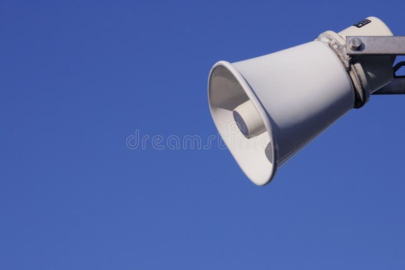 大声的语音 库存图片