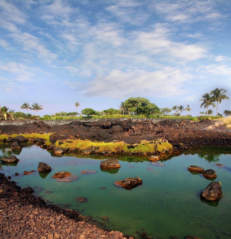 大夏威夷海岛 库存照片