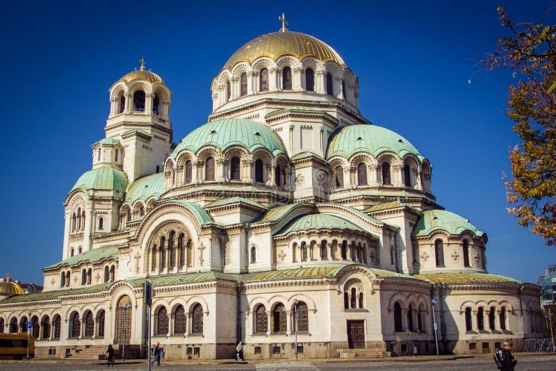 大大教堂在索非亚 库存照片