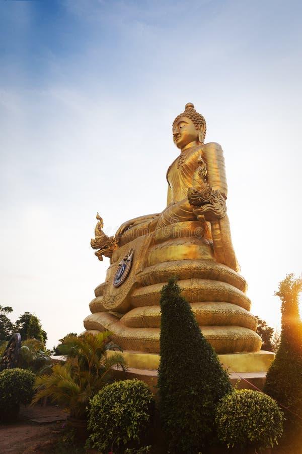 大大理石菩萨雕象普吉岛海岛,泰国 图库摄影