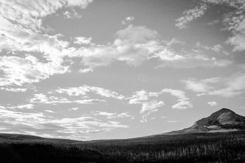 大天空山 库存图片