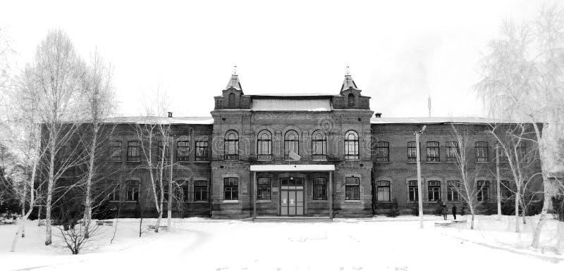 大学建筑学 库存照片