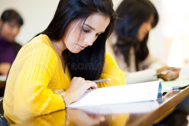 大学生学习 图库摄影