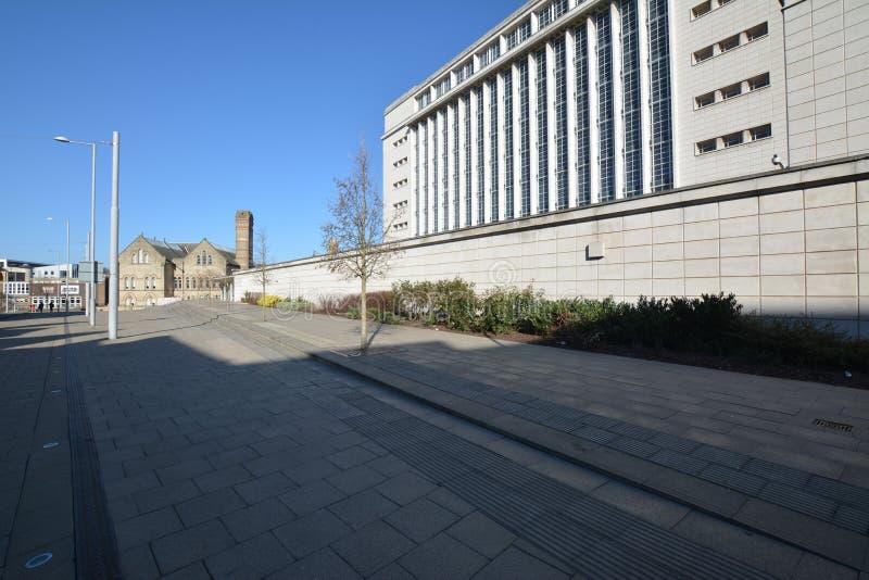 大学诺丁汉在英国-欧洲 库存照片