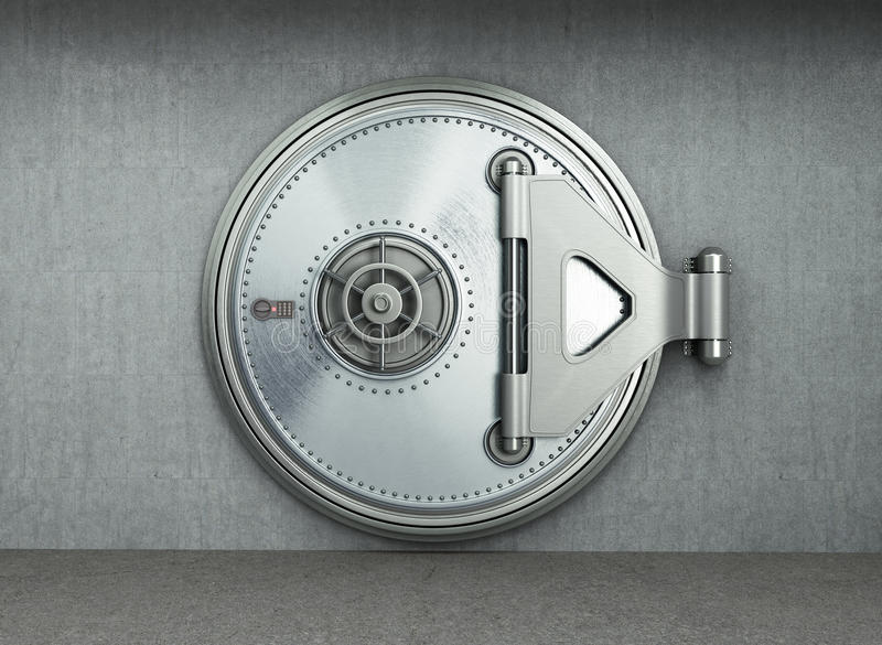 大安全门背景高分辨率3d回报 向量例证