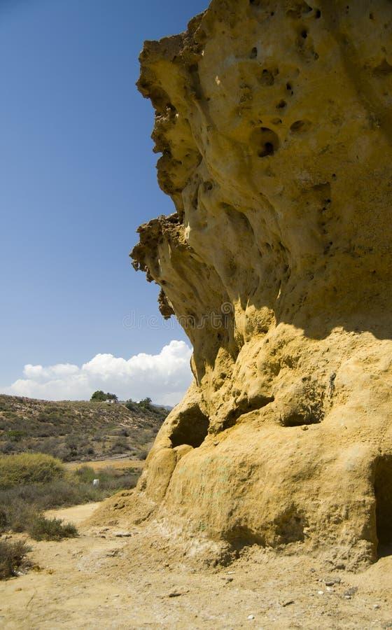 大岩石 库存照片