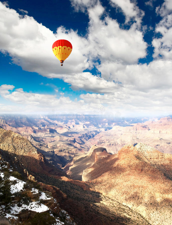 大峡谷国家公园在亚利桑那 库存图片
