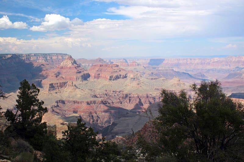 大峡谷景色,亚利桑那 图库摄影