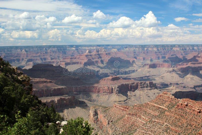 大峡谷景色,亚利桑那 库存图片