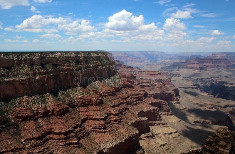 大峡谷景色,亚利桑那 库存照片