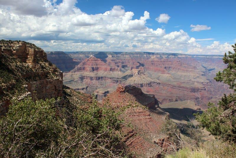 大峡谷景色,亚利桑那 免版税图库摄影
