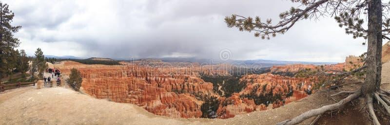 大峡谷的全景在春天 美国 春天2015年 免版税图库摄影