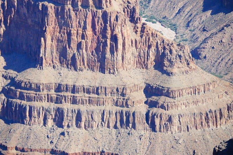 大峡谷的西部外缘a23 图库摄影