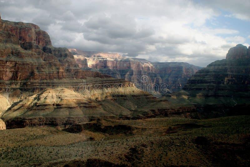 大峡谷着陆 图库摄影