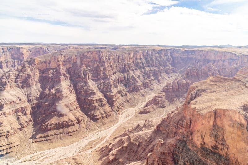 大峡谷西部外缘  免版税库存图片
