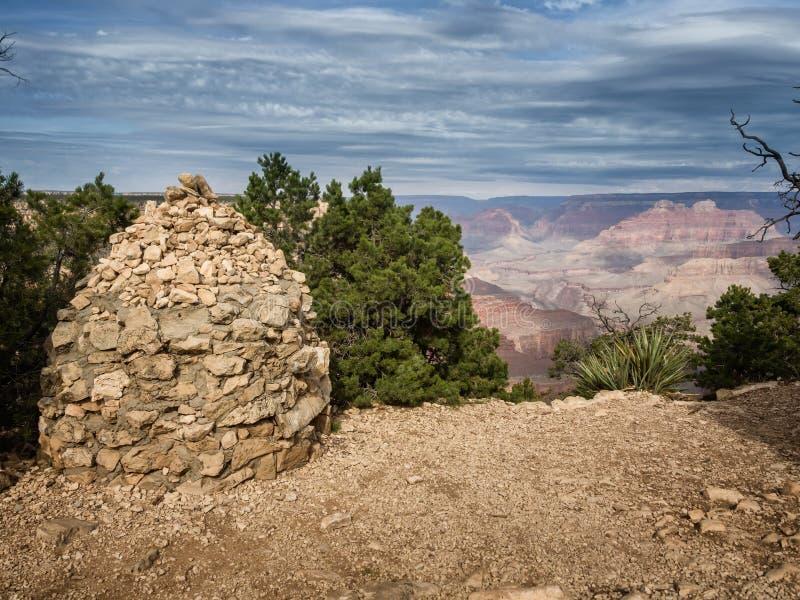 大峡谷隐士休息,亚利桑那 免版税库存图片