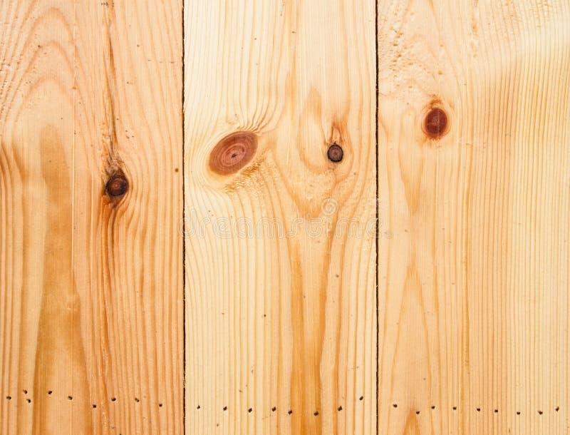 大布朗木板条墙壁纹理背景 库存照片