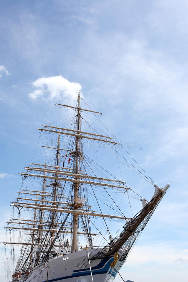 大帆船 免版税库存图片