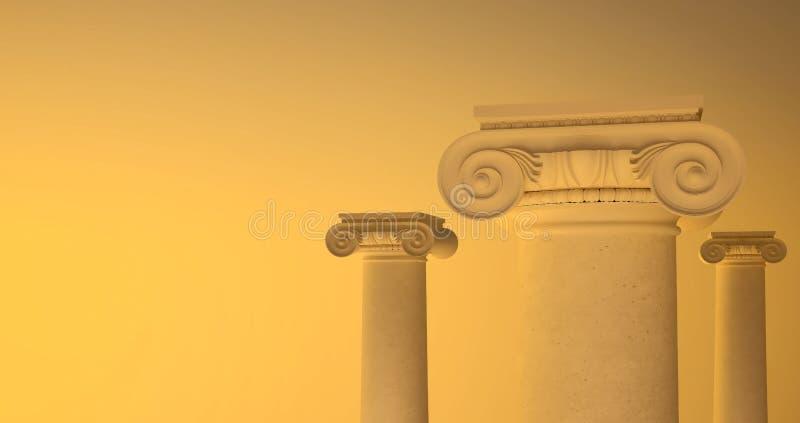 大希腊容易切割的岩石的列的照片 免版税库存图片