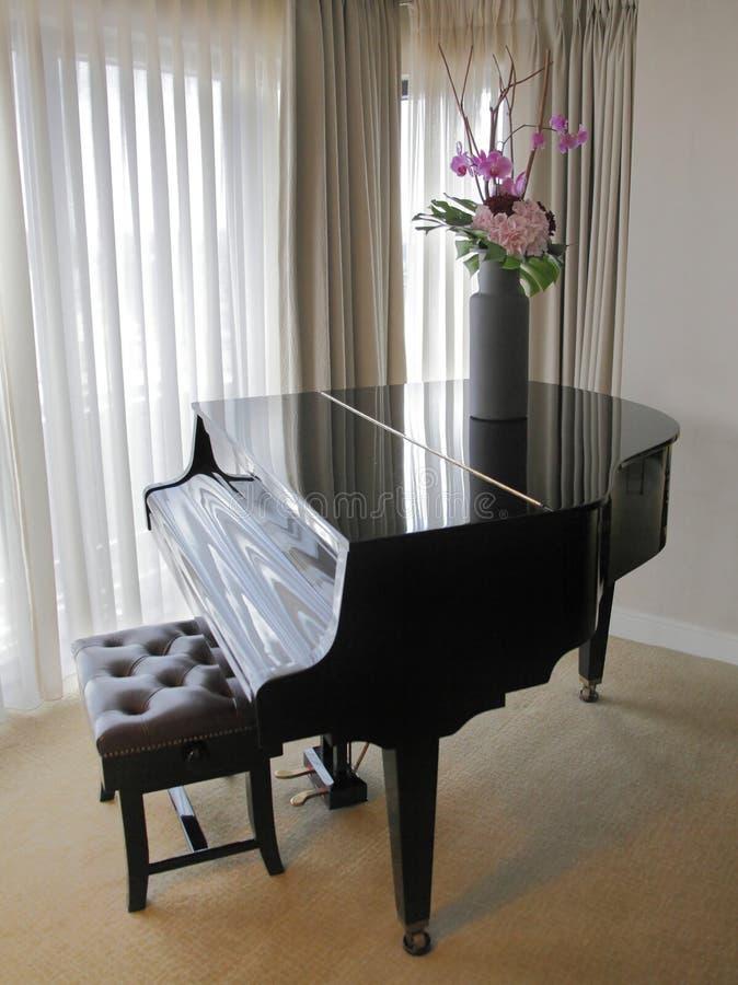 大平台钢琴 免版税库存照片