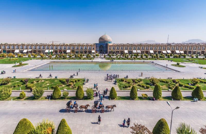 大广场在伊斯法罕 图库摄影