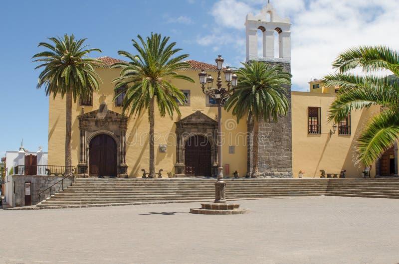大广场在有旧金山, Teneri修道院的加拉奇科  库存图片