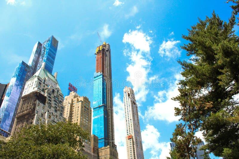 大建造者在纽约 库存照片