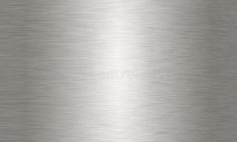大掠过的铝背景纹理 库存例证