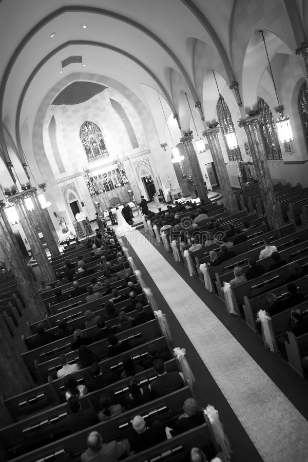 大教会 库存图片