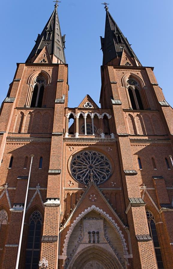 大教堂乌普萨拉 免版税图库摄影