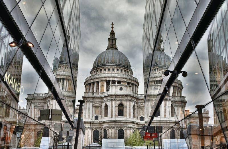 大教堂伦敦保罗s st 库存图片