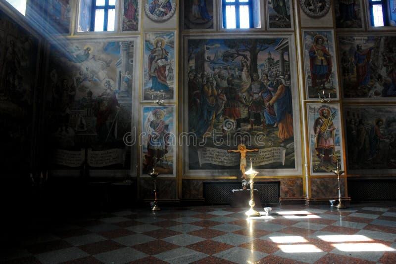 大教堂内部基辅迈克尔s st ukrain 库存图片
