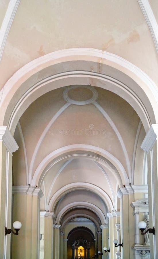大教堂利昂pedro ・圣 免版税库存图片