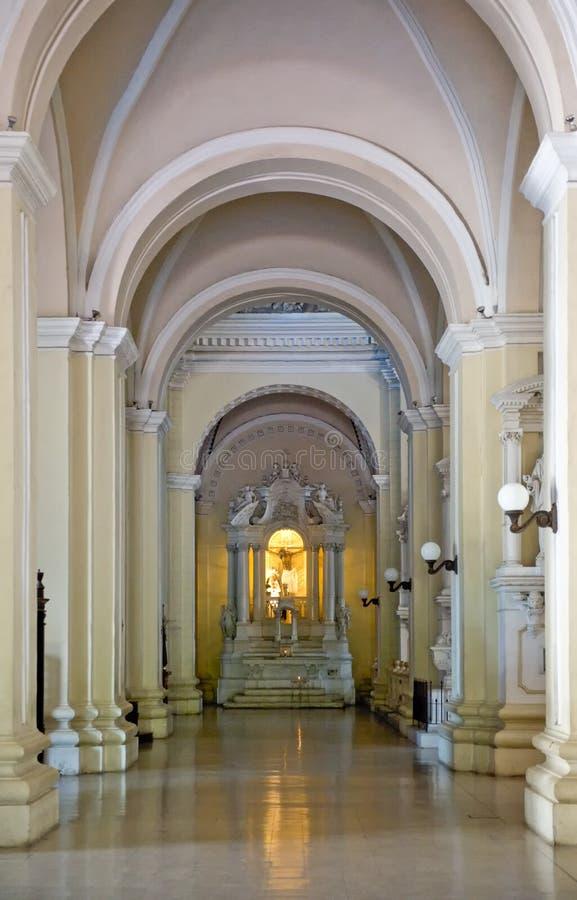 大教堂利昂pedro ・圣 库存照片