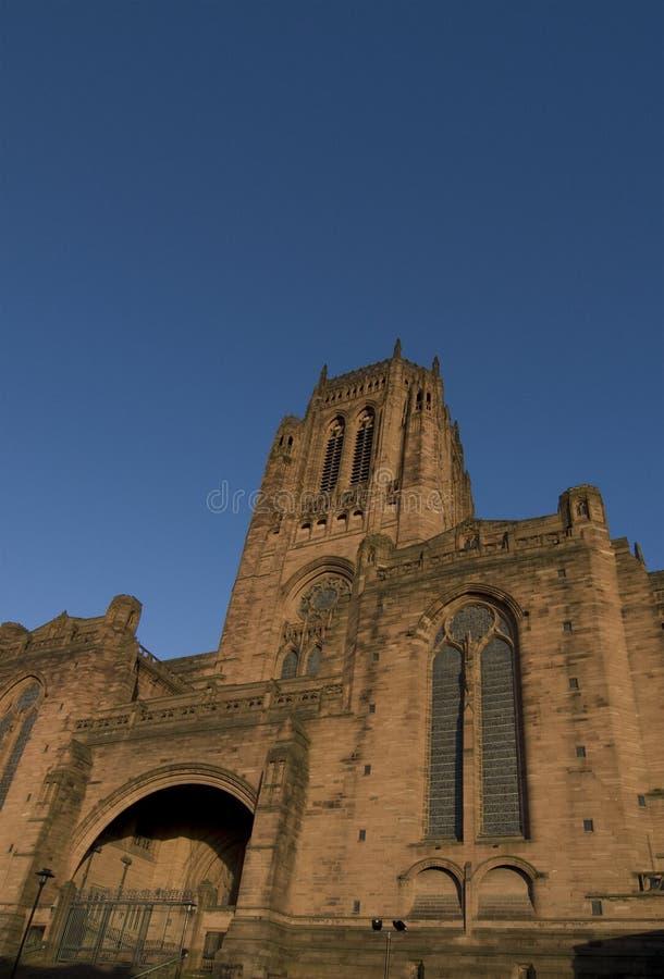 大教堂利物浦 图库摄影