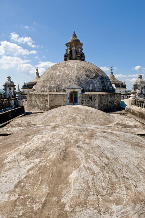 大教堂半球形的屋顶 免版税库存照片