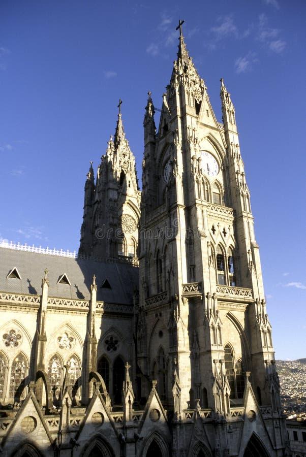 大教堂厄瓜多尔基多 免版税图库摄影