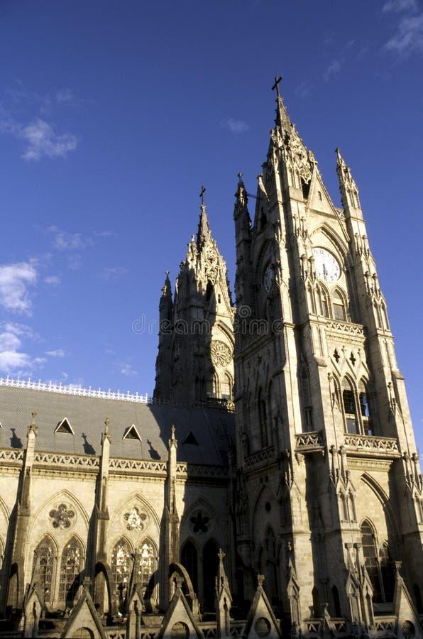 大教堂厄瓜多尔基多 库存照片